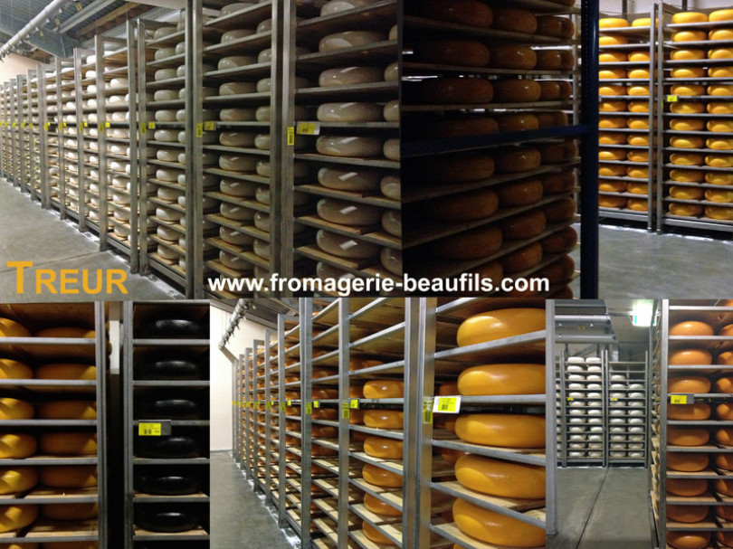 Gouda.Treur. Fromagerie Beaufils.Fromager. Paris. 75020. Belleville.