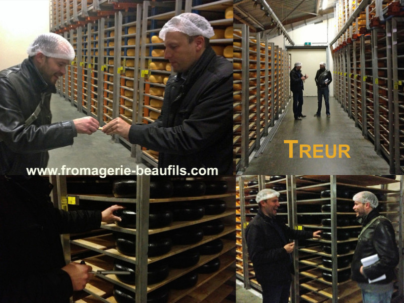 Gouda. Treur. Fromagerie Beaufils. Fromager. 75020. Belleville.