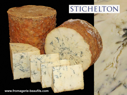 Stichelton. Fromagerie Beaufils.