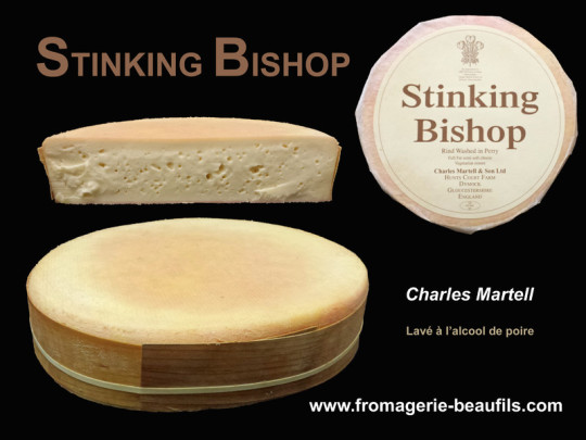 Stinking Bishop. Fromagerie Beaufils.