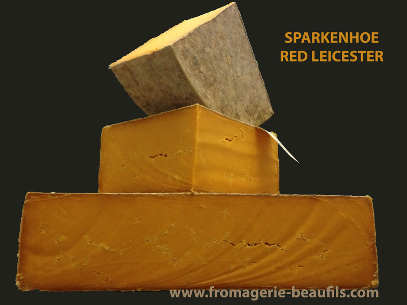 Sparkenhoe Red Leicester. Fromagerie Beaufils.