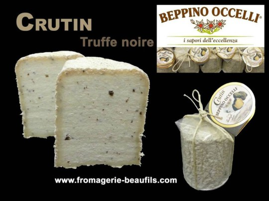 Beppino Occelli. Cruttin al Tartufo; Fromagerie Beaufils.