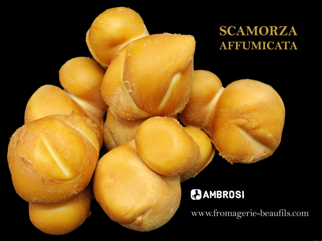 Scamorza affumicata. Fromagerie Beaufils.