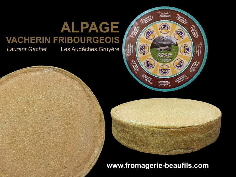 Vacherin Fribourgeois. Fromagerie Beaufils.