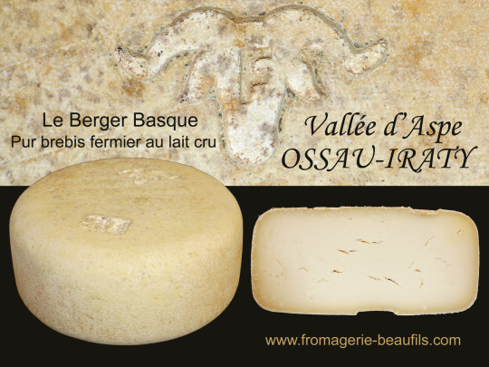 Ossau-Iraty. Fromage de brebis. Fromagerie Beaufils.