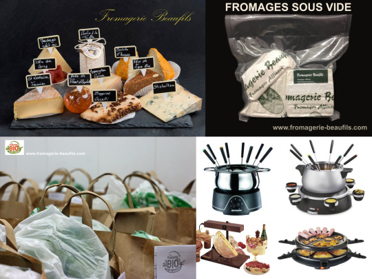 Services aux particuliers. Fromagerie Beaufils.
