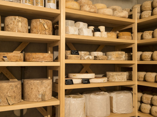 Restaurateurs. Fromagerie Beaufils.