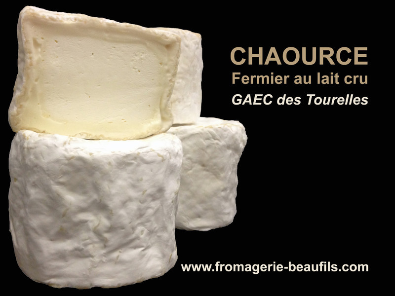 Chaource. Fromage de vache. Fromagerie Beaufils.