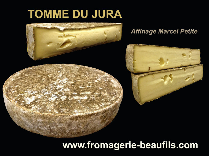 Tomme artisanale. Fromage de vache. Fromagerie Beaufils.