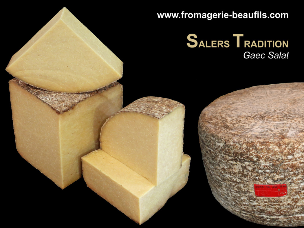 Salers Tradition. Fromage de vache. Fromagerie Beaufils.