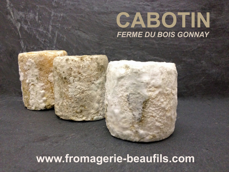 Cabotin. Fromage de chèvre. Fromagerie Beaufils.