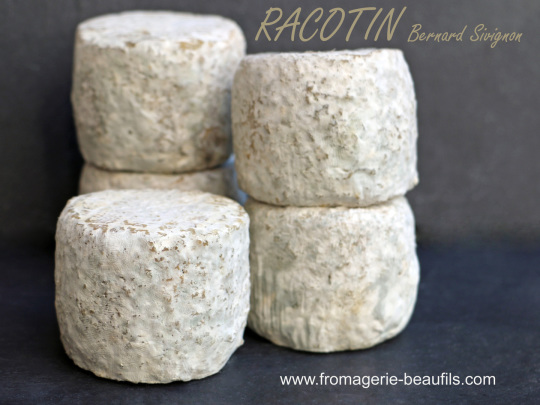Racotin. Fromage de chèvre. Fromagerie Beaufils.