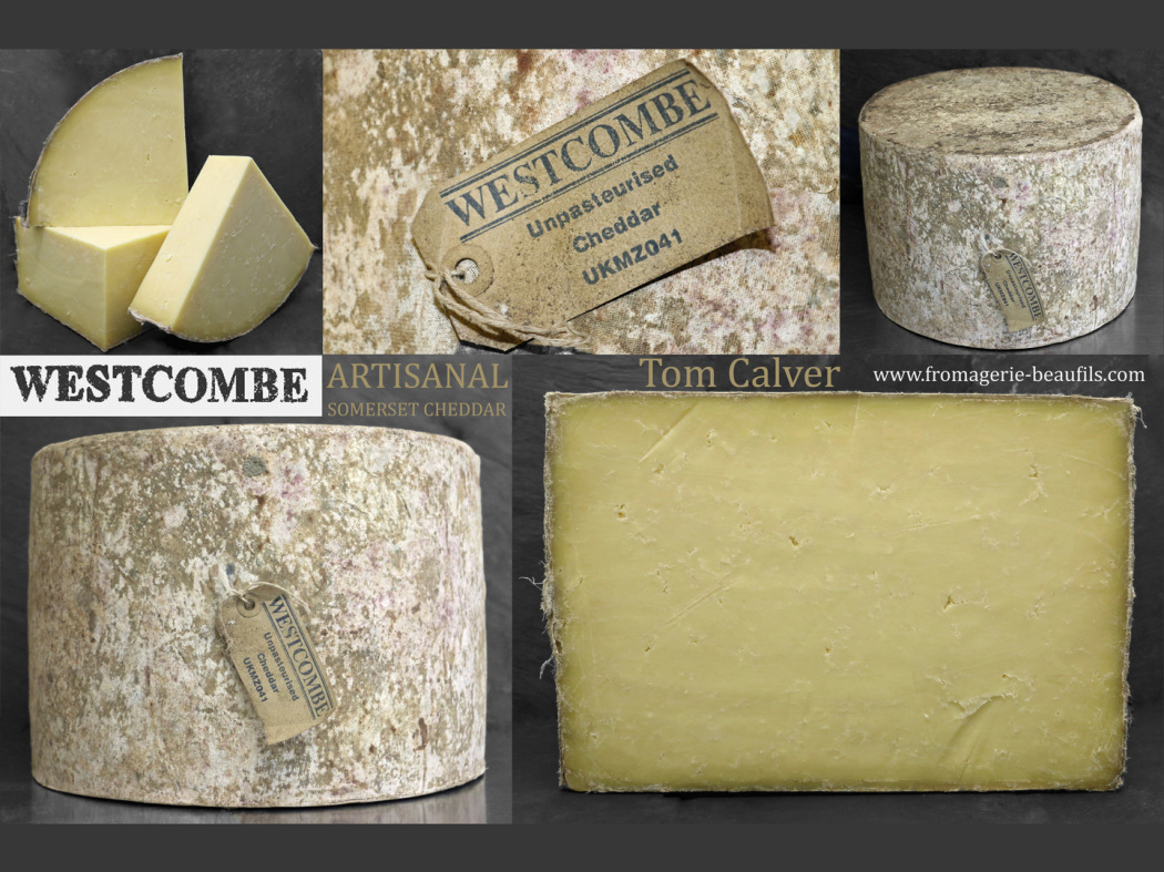 Westcombe Cheddar. Somerset cheddar. Fromagerie Beaufils.