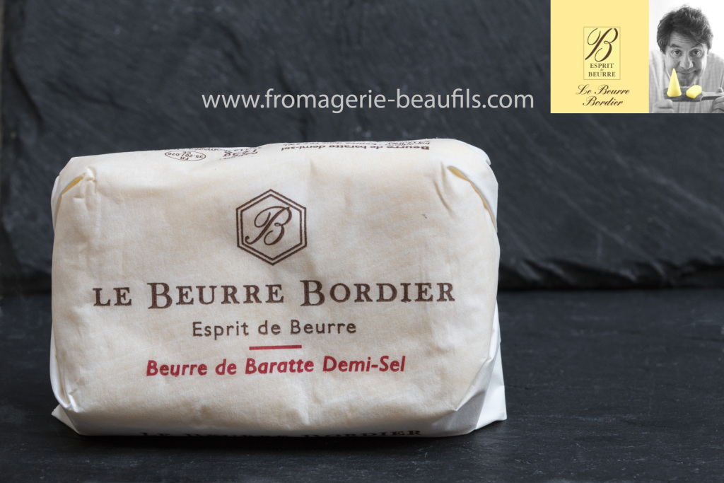 Beurre Bordier. Fromagerie Beaufils.