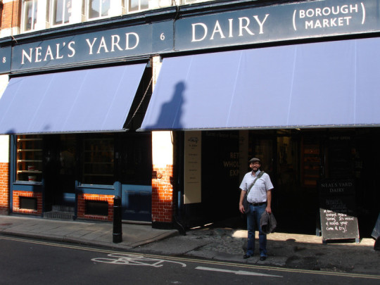 Visites aux producteurs. En Angleterre. Fromages anglais. Neal's Yard Dairy. Fromagerie Beaufils.