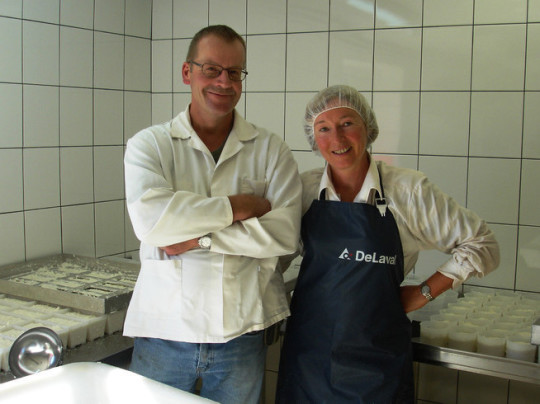 Chèvres du Cantal. Fromagerie Reuss. Fromagerie Beaufils.