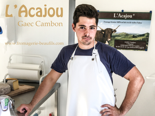 Acajou. Gaec Cambon. Fromagerie Beaufils.