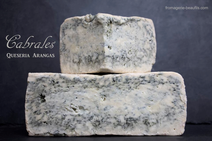Cabrales. Fromage espagnol. Fromagerie Beaufils.